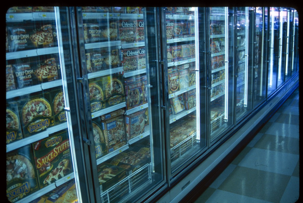 Grocery store freezers