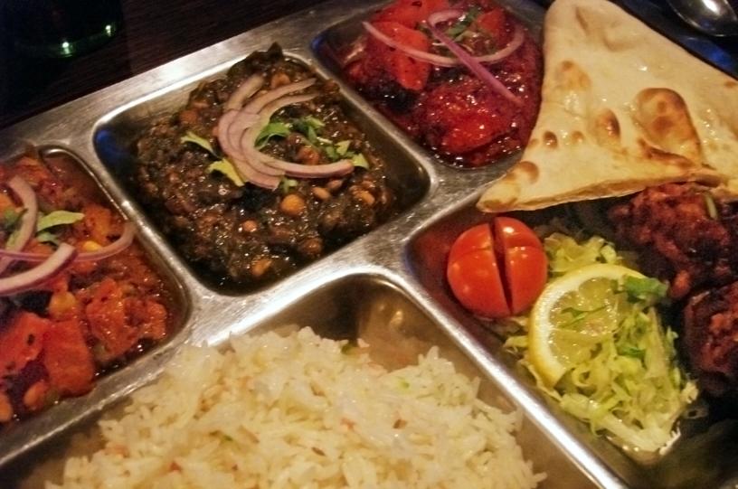 Delicious, delicious curry.