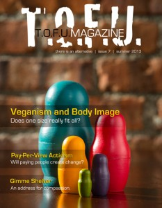 Issue seven of the vegan magazine T.O.F.U.