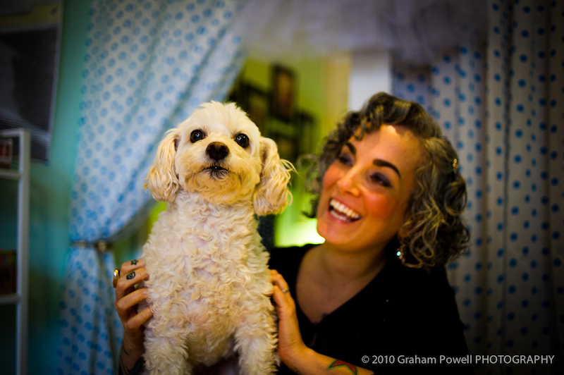 Vegan cookbook author, Sarah Kramer, is the newest T.O.F.U. grant recipient.