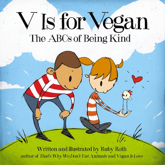 V is for Vegan book cover
