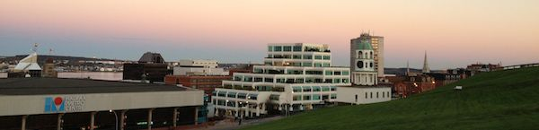 Citadel Hill and the Halifax Metro Centre, Halifax, Nova Scotia