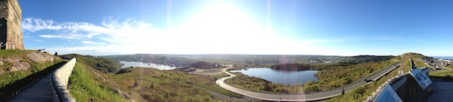 Panoramic from Signal Hill, St. John's, NL