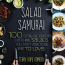 The cover of Terry Hope Romero's Salad Samurai cookbook