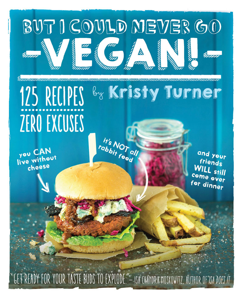 Vegan Cookbook Cover : Review but i could never go vegan t o f u magazine