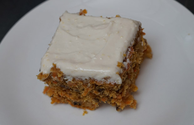 Captain's Favourite Carrot Cake