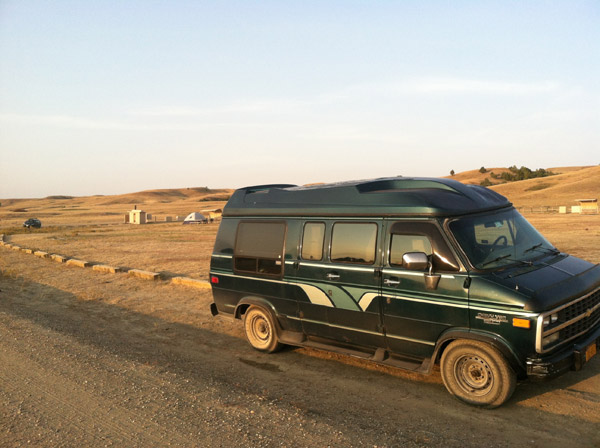 Kristin Lajeunesse from Will Travel for Vegan Food in Badlands National Park