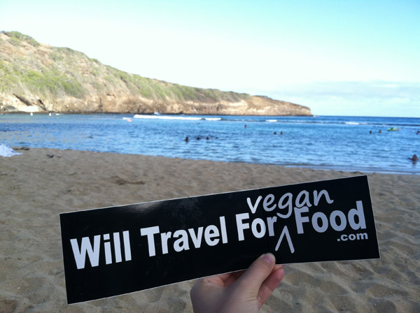 Kristin Lajeunesse from Will Travel for Vegan Food in Hawaii