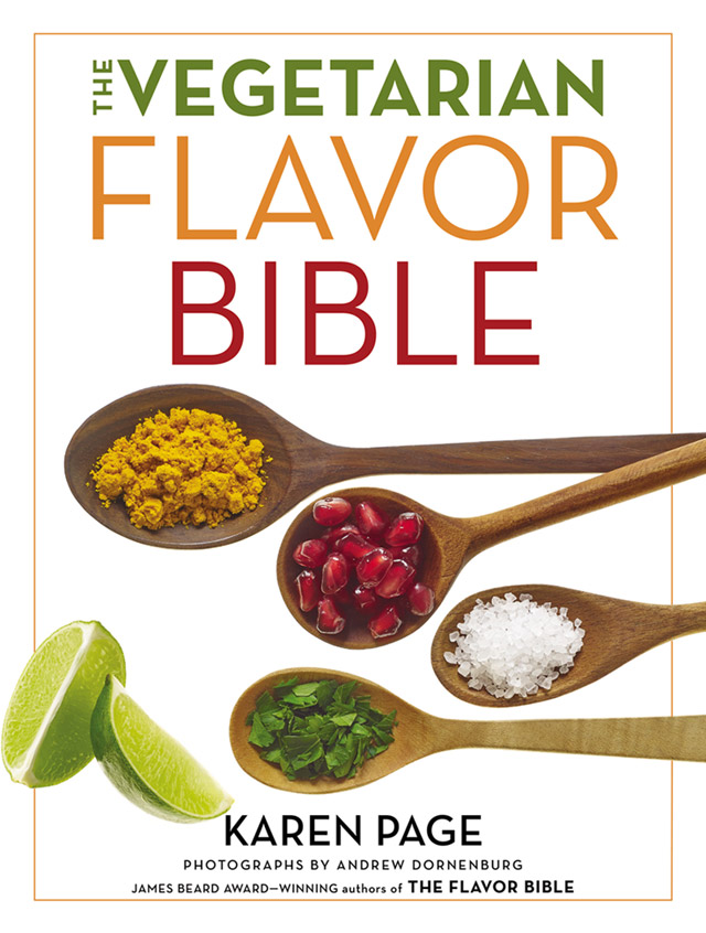 Cover for The Vegetarian Flavor Bible