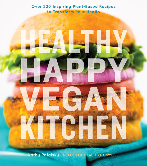 Cover for Healthy Happy Vegan Kitchen