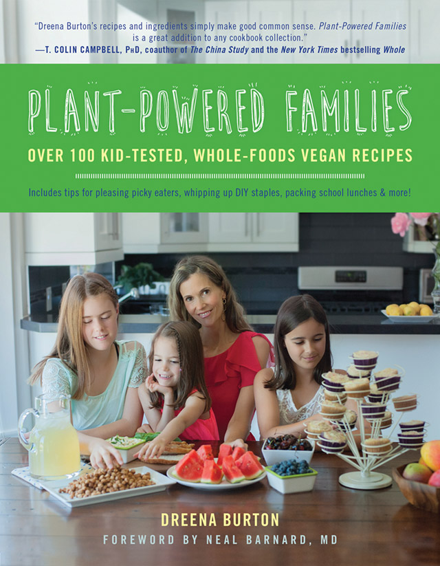 Cover for Dreena Burton's Plant-Powered Families