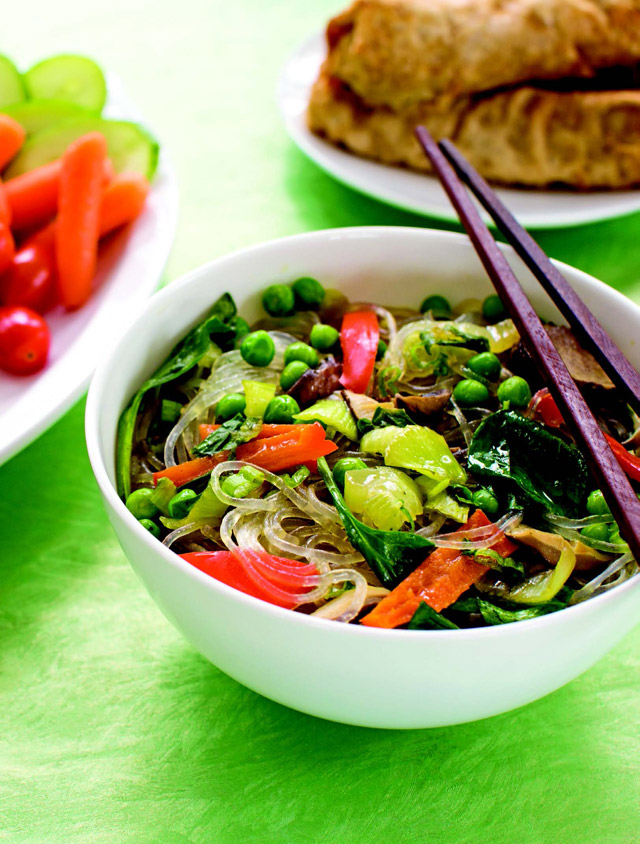 Asian Noodle Bowls from Plant Power