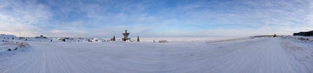 Hudson Bay from Churchill, MB