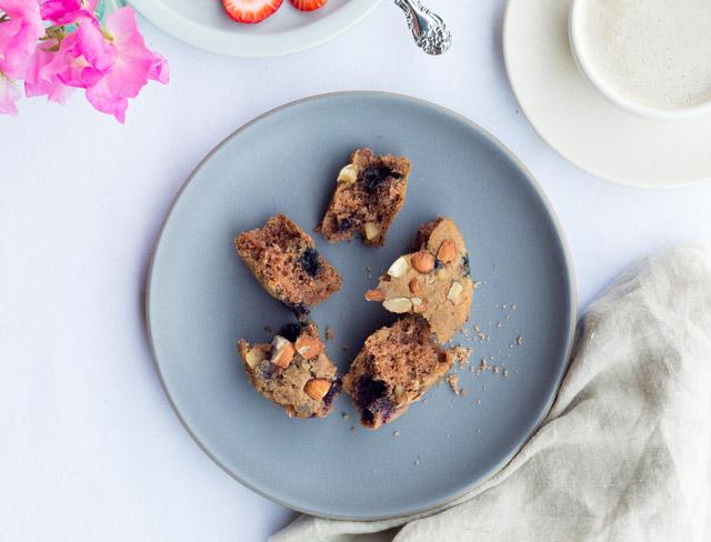 Fresh n' Lean's Vegan Berry Muffin