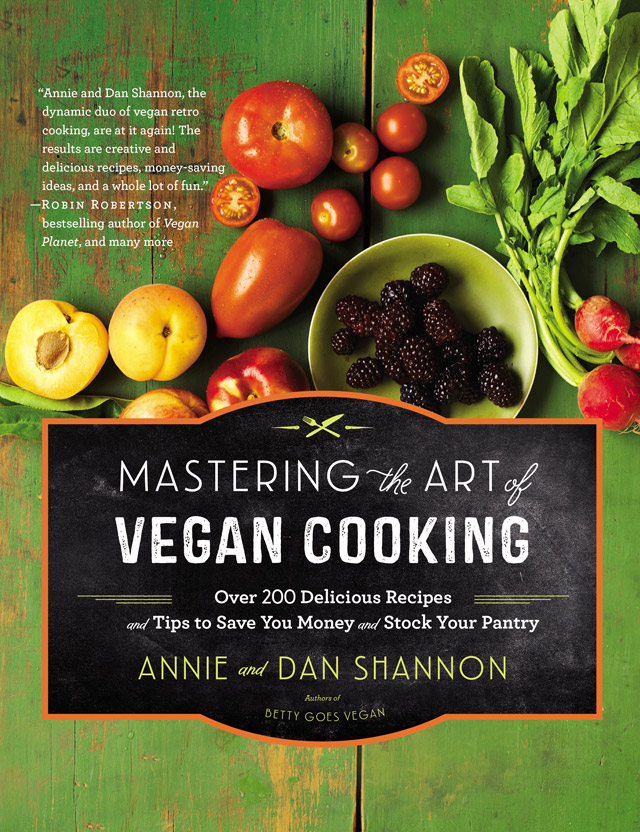 Cover for Mastering the Art of Vegan Cooking