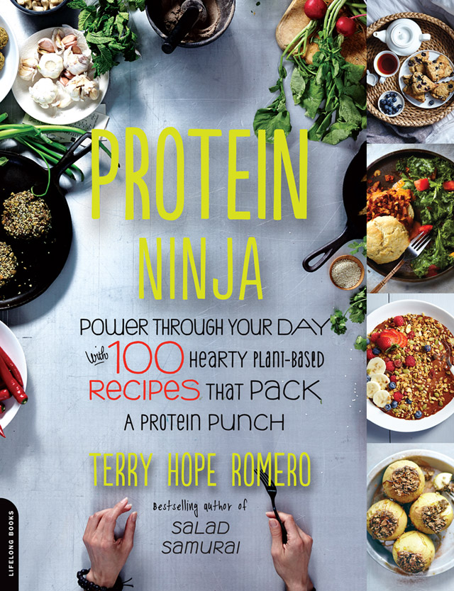Cover for Protein Ninja by Terry Hope Romero