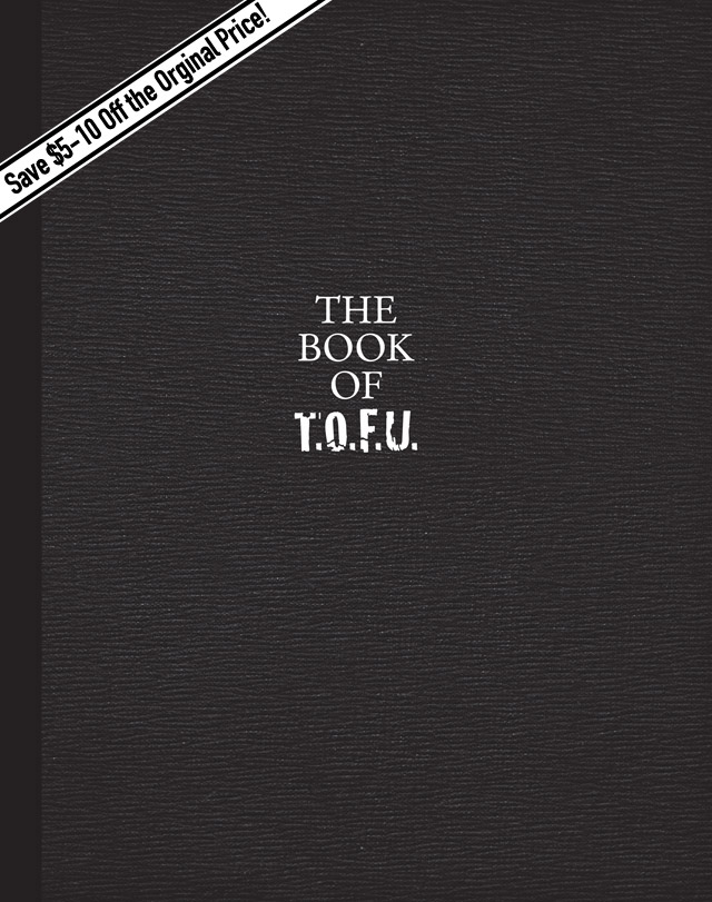 Cover for The Book of T.O.F.U. sale