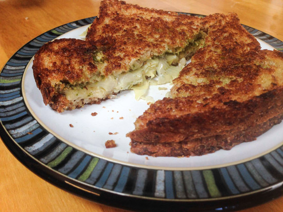 Sheese grilled cheese sandwich