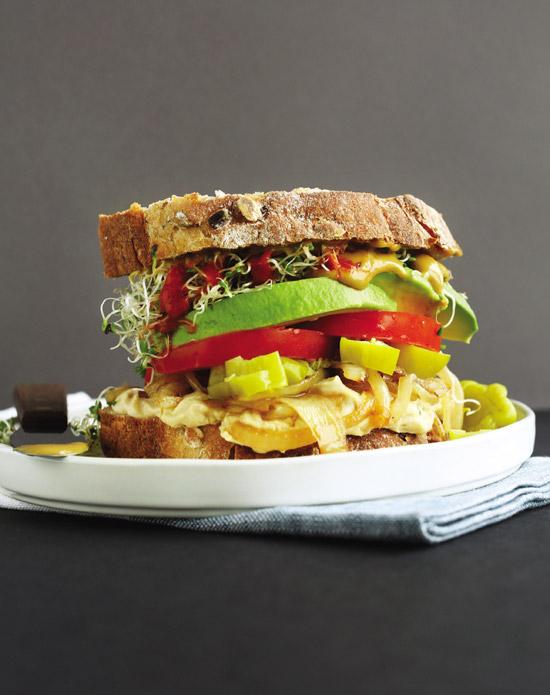 Minimalist Baker's Trashy Vegan Sandwich