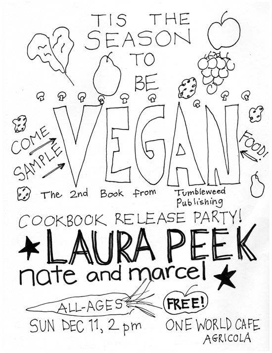 Release poster for 'Tis the Season to be Vegan