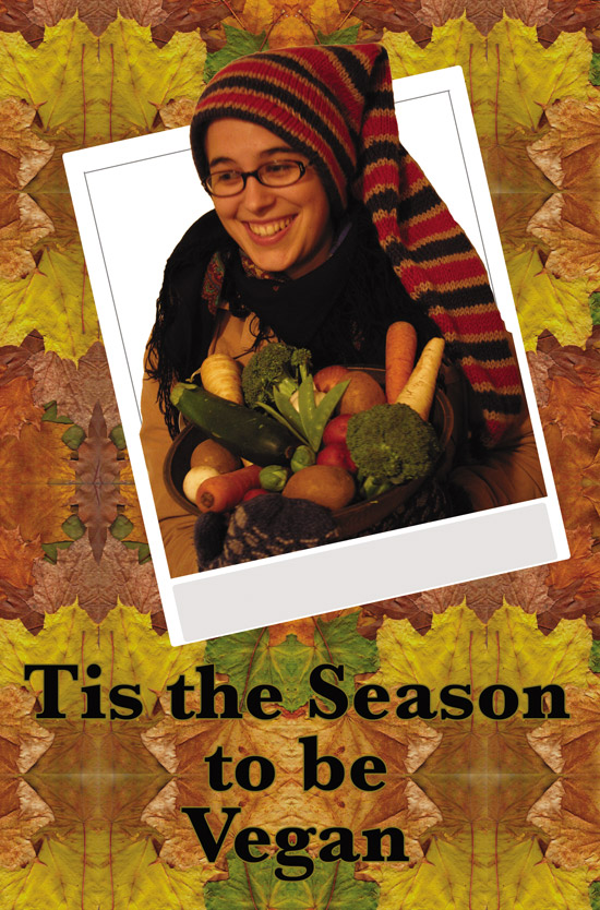 Cover for Tis the Season to be Vegan