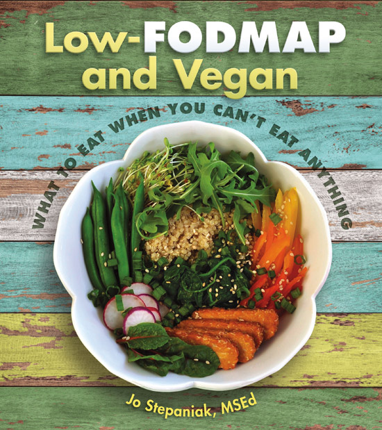 Cover for Low-FODMAP and Vegan