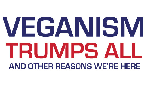 Cover for Veganism Trumps All