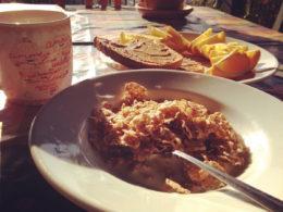Breakfast in Kızılağaç, Turkey
