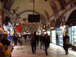 The Grand Bazaar in Istanbul, Turkey