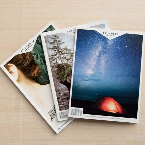 Copies of Driftwood Magazine