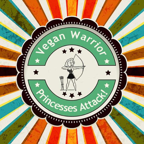 Logo for Vegan Warrior Princesses Attack