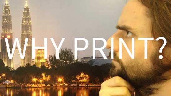 Cover for Why Print