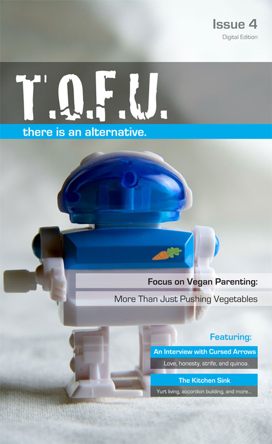 Cover for T.O.F.U. #4